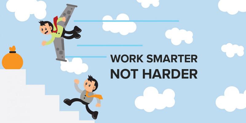 Work Smarter with Digital Marketing/E-Commerce