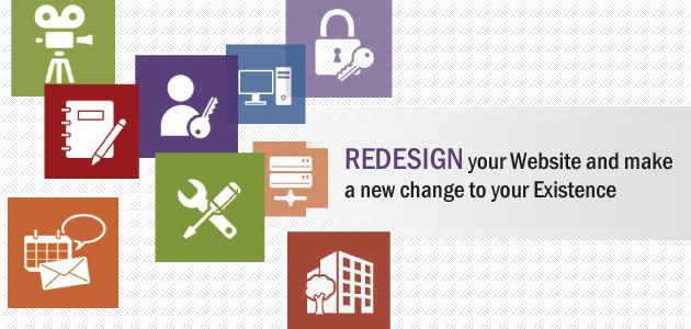 Redesign your Website and make a new change to your Existence