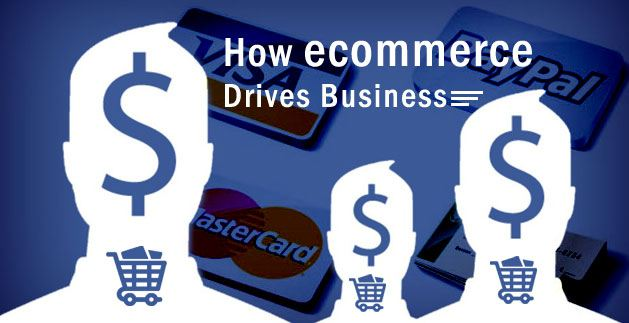 How ecommerce Drives Business