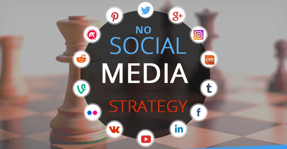 No Social Media Strategy