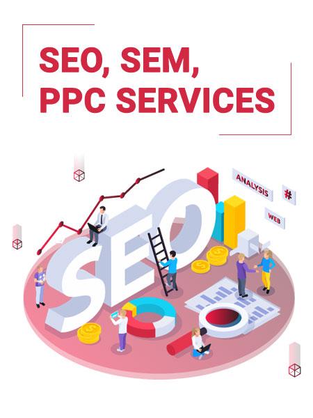 SEO, SEM, PPC Services