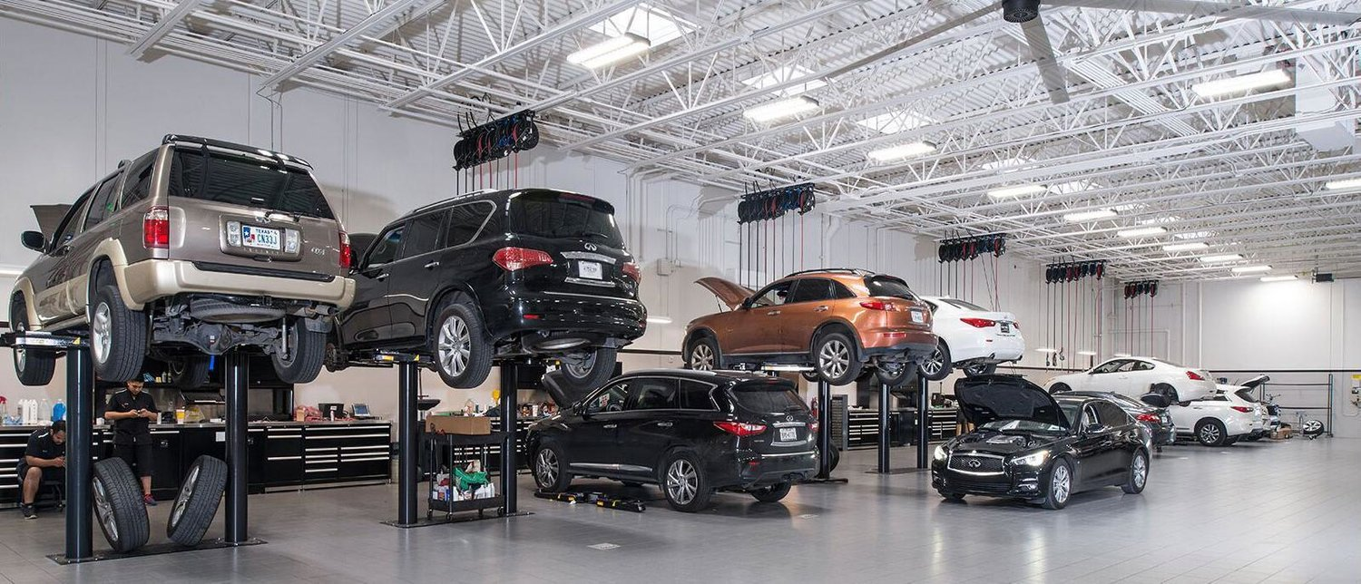 Automobile Dealerships and Service Centers